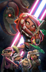 Splatoon - Agent 8 by Zombie-Graves