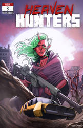 Heaven Hunters - Issue #3 Cover