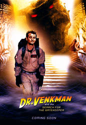 Dr. Venkman Indy Poster by CrosstheStreams