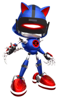(Concept) VR Metal Sonic by justazag