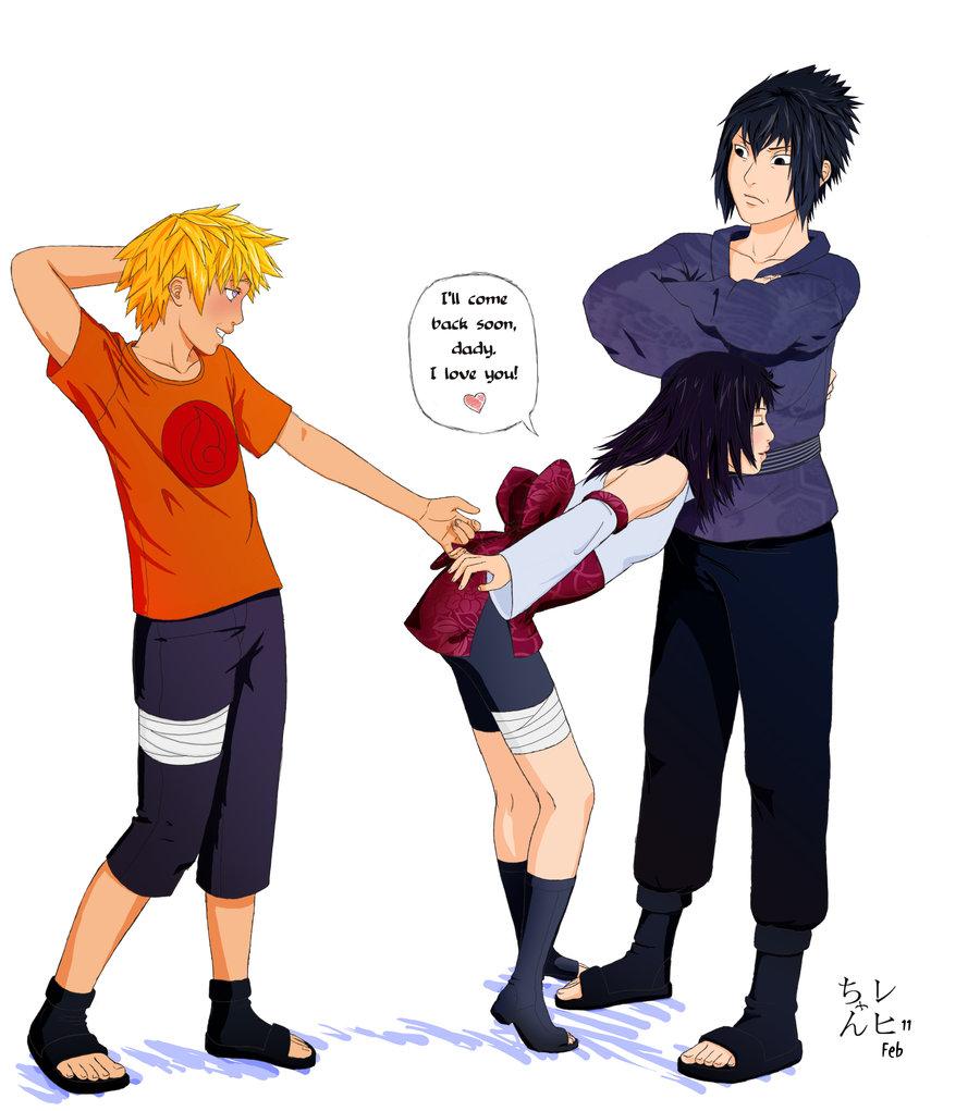 Boruto vs sasuke son