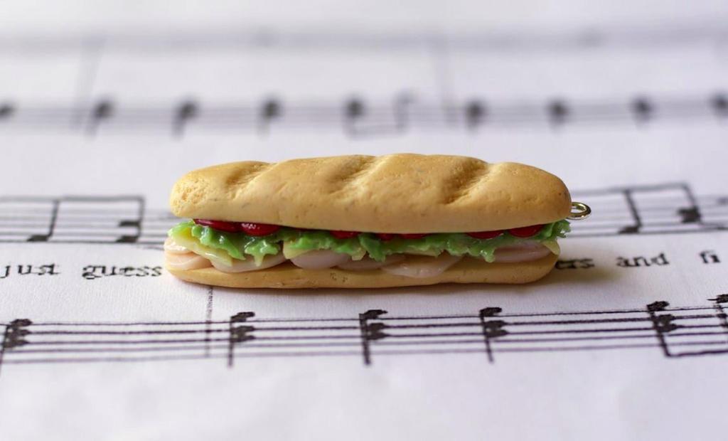 Sub Sandwich Charm by ChloeeeeLynnee97