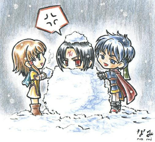 FE: Fun in da Snow by M1NAM1