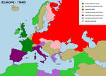 Three Ideologies, Three Unions, One Continent