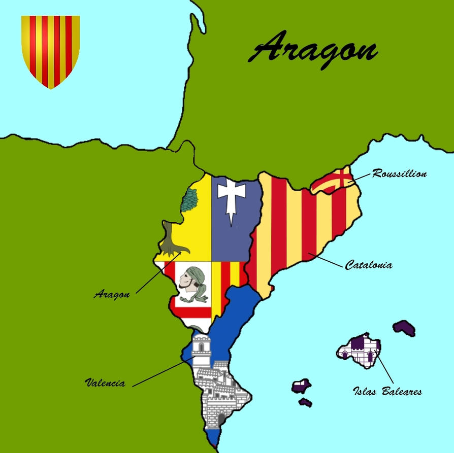 The Five Provinces of Aragon by SteamPoweredWolf on DeviantArt