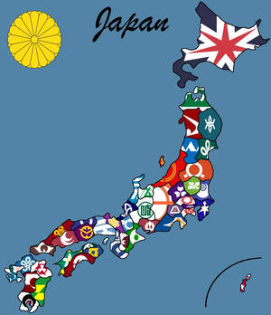 The 47 prefectures of Japan