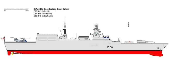 Royal Navy Type 85 (Cruiser)