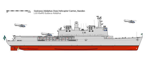 Gustavus Adolphus Class (Helicopter Carrier)