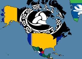 Alternate Flags of North America