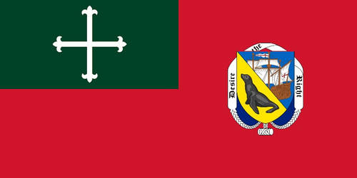 Variant Flag of the Falkland Islands by SteamPoweredWolf