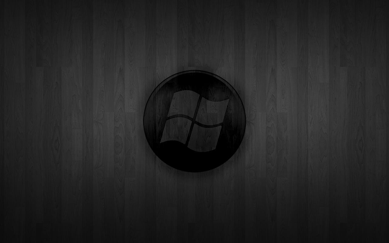 Windows Wallpaper Black