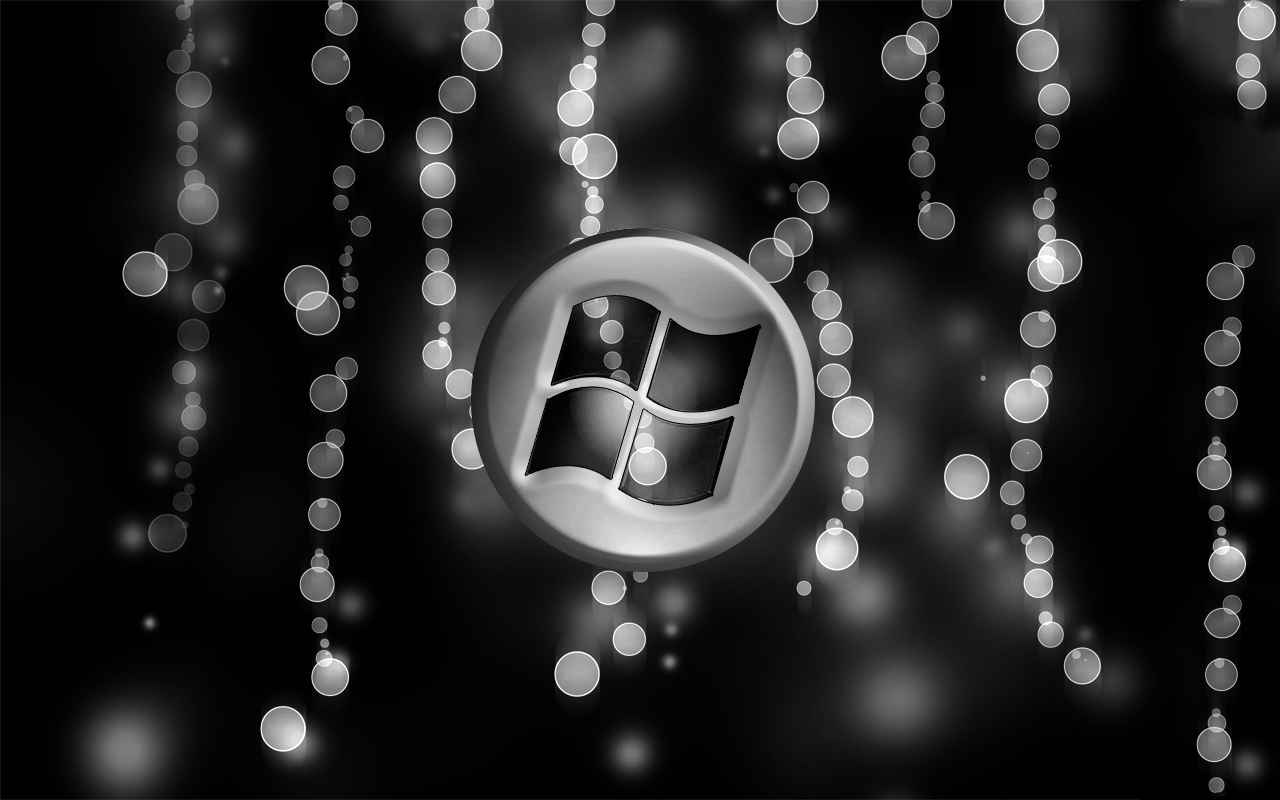 Windows 7 Black And Silver By Miguelh91 On Deviantart