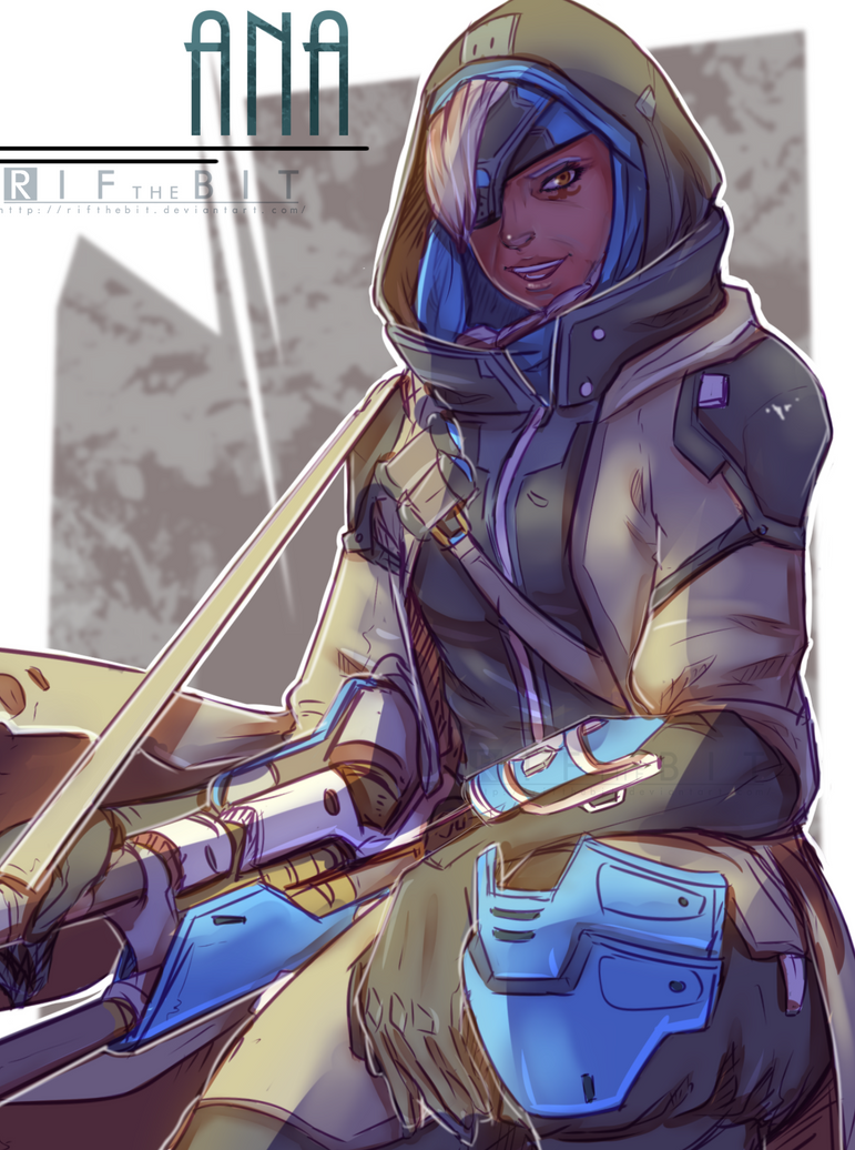Overwatch Ana by RifTheBit on DeviantArt