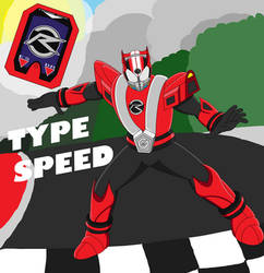 Type Speed! Go-On Drive! by SuperSentaiHedgehog