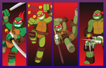 TMNT 35th Anniversary: 2012 (Red version)