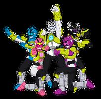 COMM: Beta Rangers - Beast X Element Mode