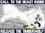 COMM: Release the Timberwolf! by SuperSentaiHedgehog