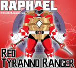 Tyranno Ranger Raph by SuperSentaiHedgehog
