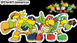 Koopa Bros redesigned