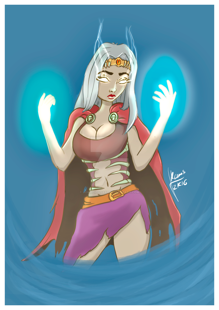 Sorceress2 by JonaciousArt