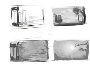 Random landscape stoodies