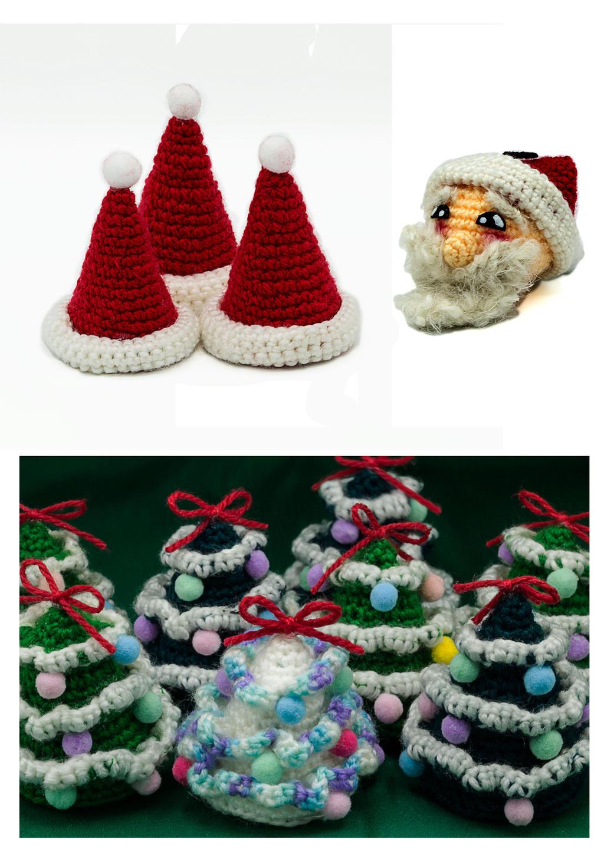 Amigurumi Natale.Amigurumi Di Natale Alberi Cappellini E Babbo By Abyart 91 On Deviantart