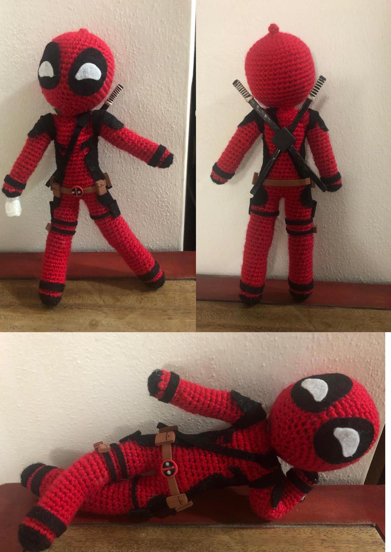 Lenn's Craft ♥ Handmade doll♥ Amigurumi ♥ : Marvel Deadpool ... | 1449x1024