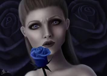 Dark Roses by AbyArt-91