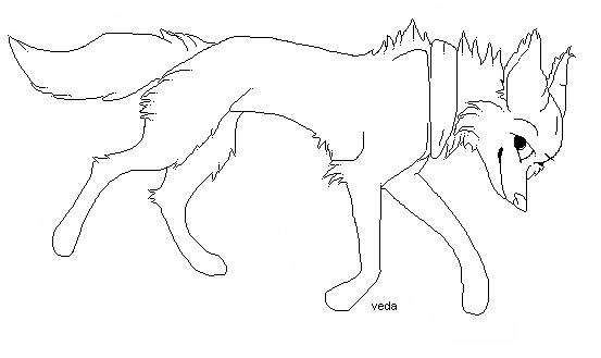 dark forest art runnin wolf lineart by dark forest faerie on deviantart
