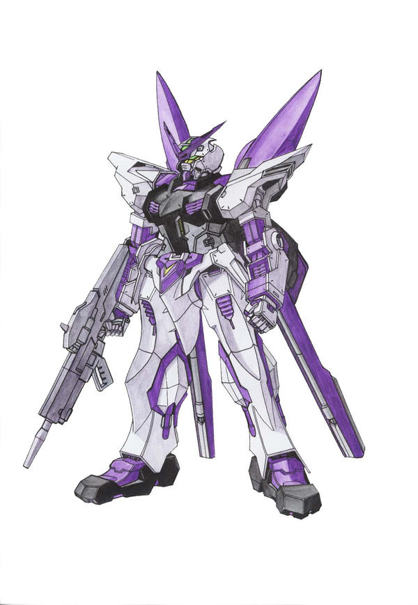 Metric To Standard >> MBF-P05 Astray Purple Frame by Tecmopery on DeviantArt