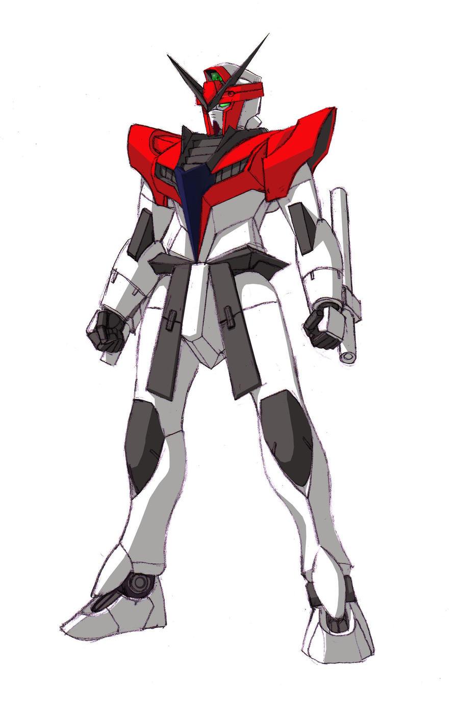 GF14-001NI Silek Gundam by Tecmopery