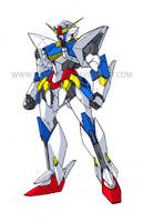 GV-01 Crusader Gundam by Tecmopery