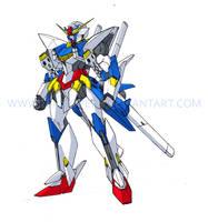 GV-01FB Crusader Gundam Full Blade by Tecmopery