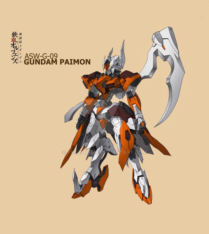 ASW-G-09 Gundam Paimon by Tecmopery