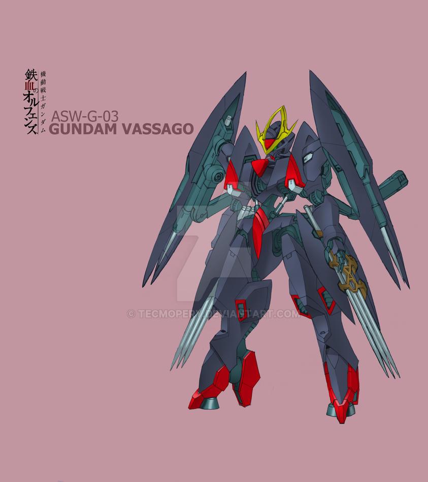 ASW-G-03 Gundam Vassago by Tecmopery