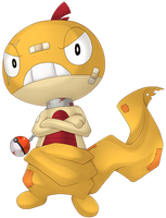 Angry Scraggy by Merum-SB-BlueOlimar