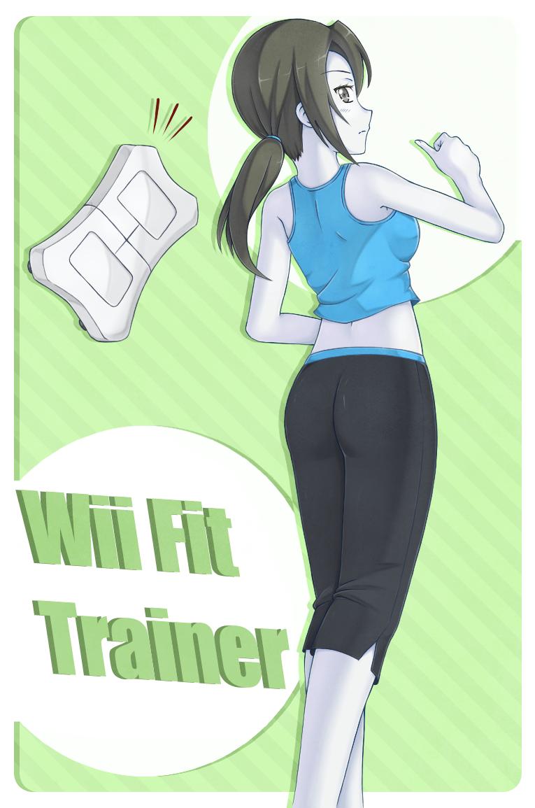 Wii Fit Trainer By Merum-SB-BlueOlimar On DeviantArt