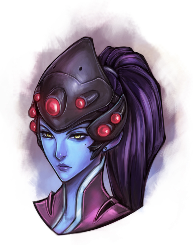 Widowmaker by mhazaru