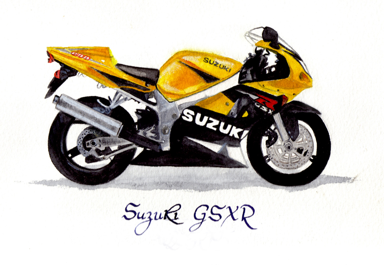 SUZUKI GSX R by inoxdesign