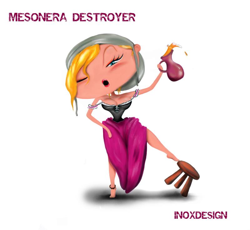 MESONERA DESTROYER by inoxdesign