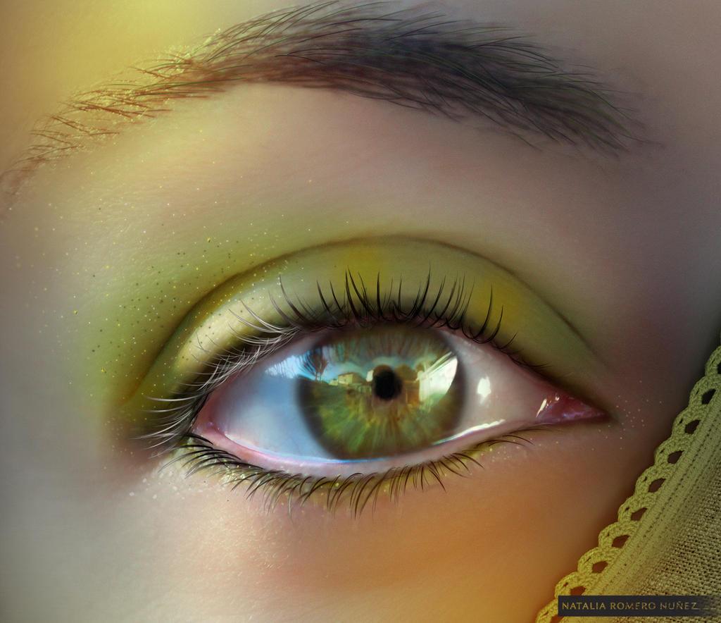Green eyes by inoxdesign