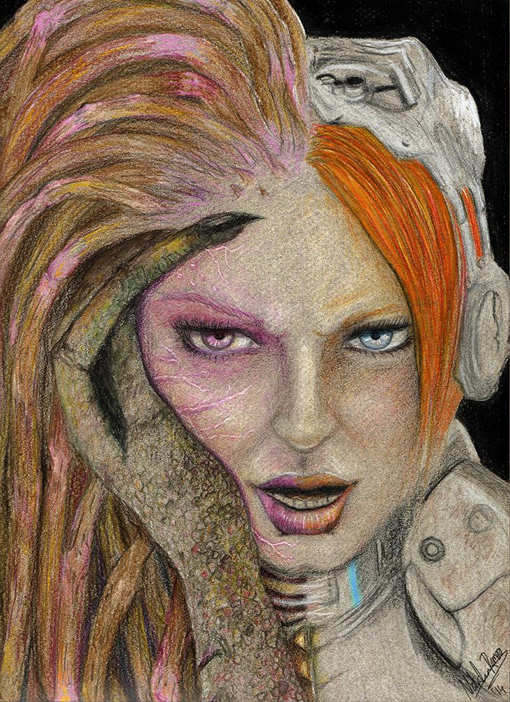 SARAH KERRIGAN starcraft / heroes of storm by inoxdesign