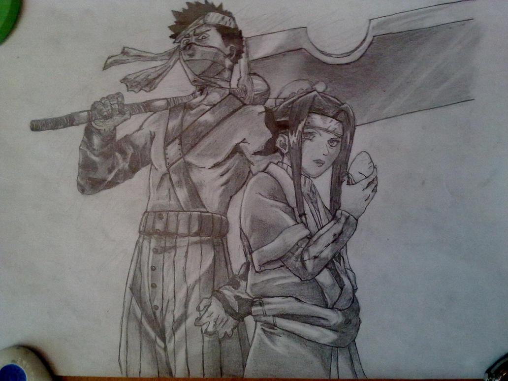 Zabuza and Haku - Pencil drawing by Trixogeddon3 on DeviantArt