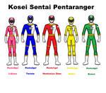 05 Kosei Sentai Pentanranger by pipe07
