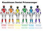 17 Koushinzen Sentai Prismaranger by pipe07