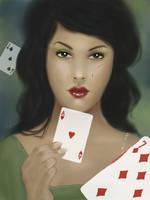 Playing cards by KseniaYakushina