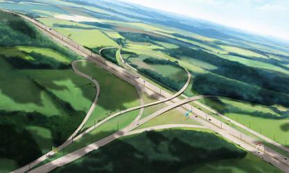 The road by KseniaYakushina