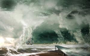 Storm of the century by KseniaYakushina