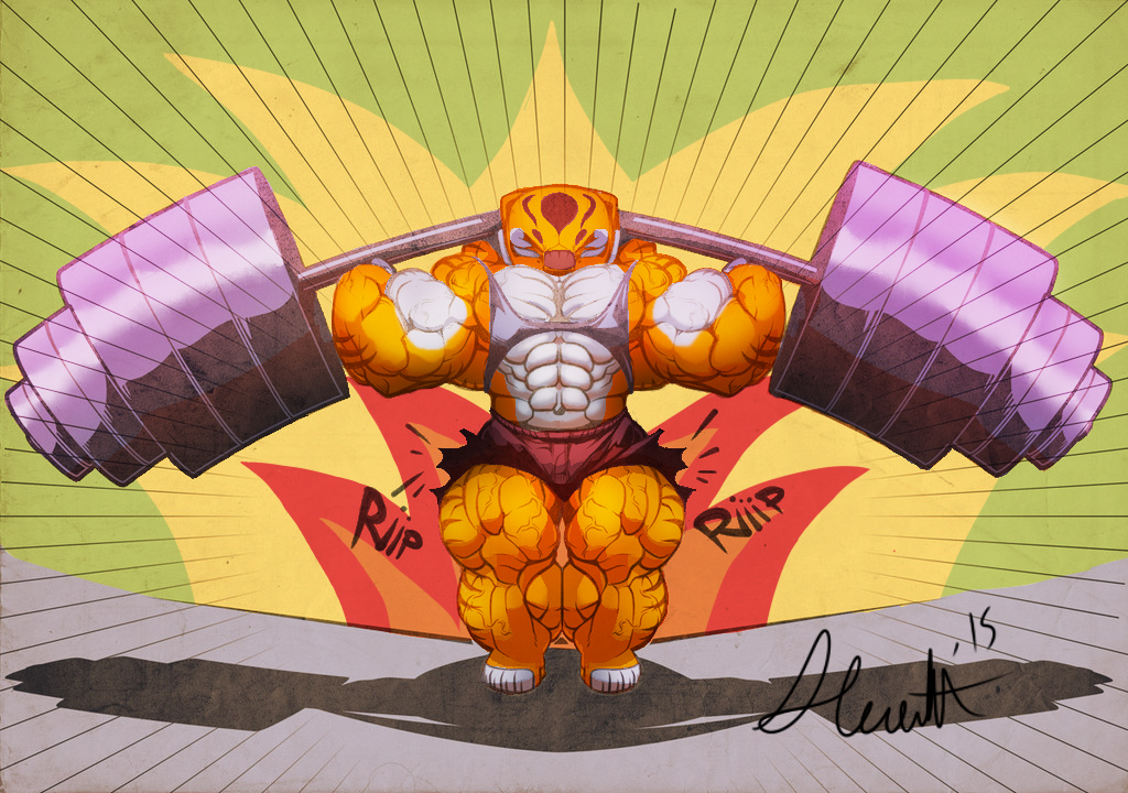 Tigress Gym by the-Sleuth