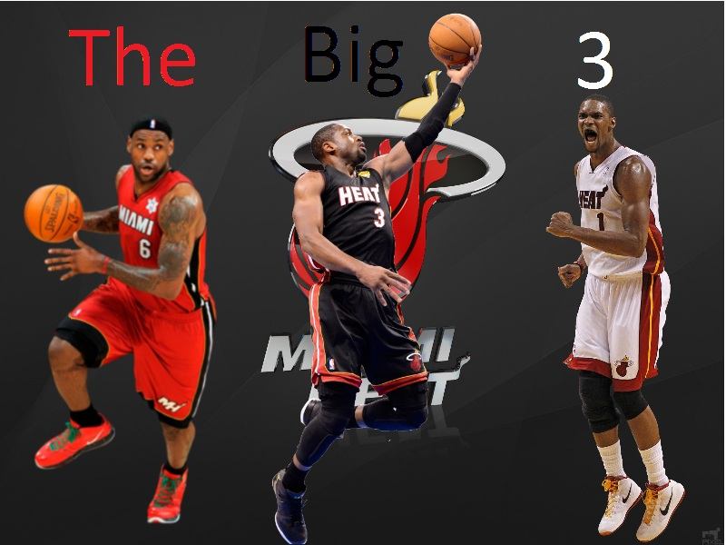 The big three miami heat wallpaper by artifypics on deviantart the big three miami heat wallpaper by artifypics voltagebd Image collections